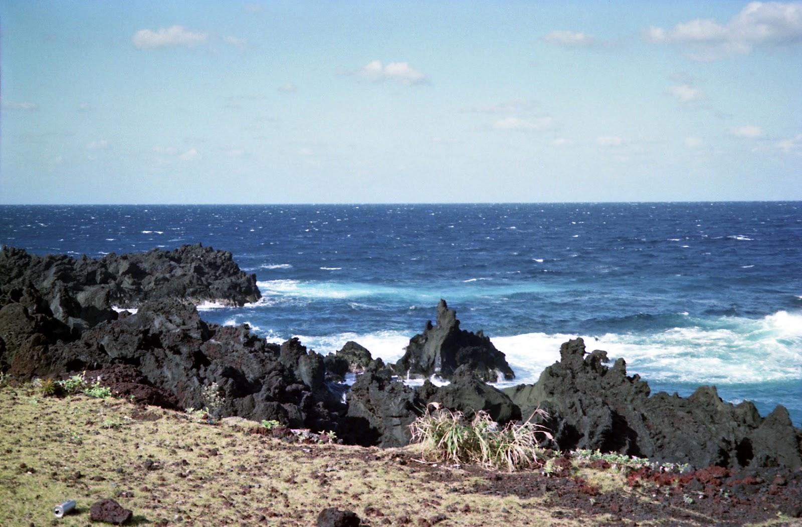 八丈島,海,岩場〈著作権フリー無料画像〉Free Stock Photos