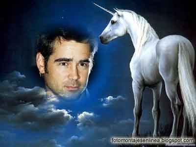 fotomontaje unicornio