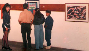 Minha primeira exposição individual