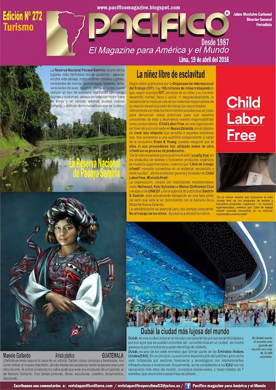 Revista Pacífico Nº 272 Turismo