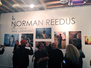 Norman Reedus photography exhibition in Los Angeles.