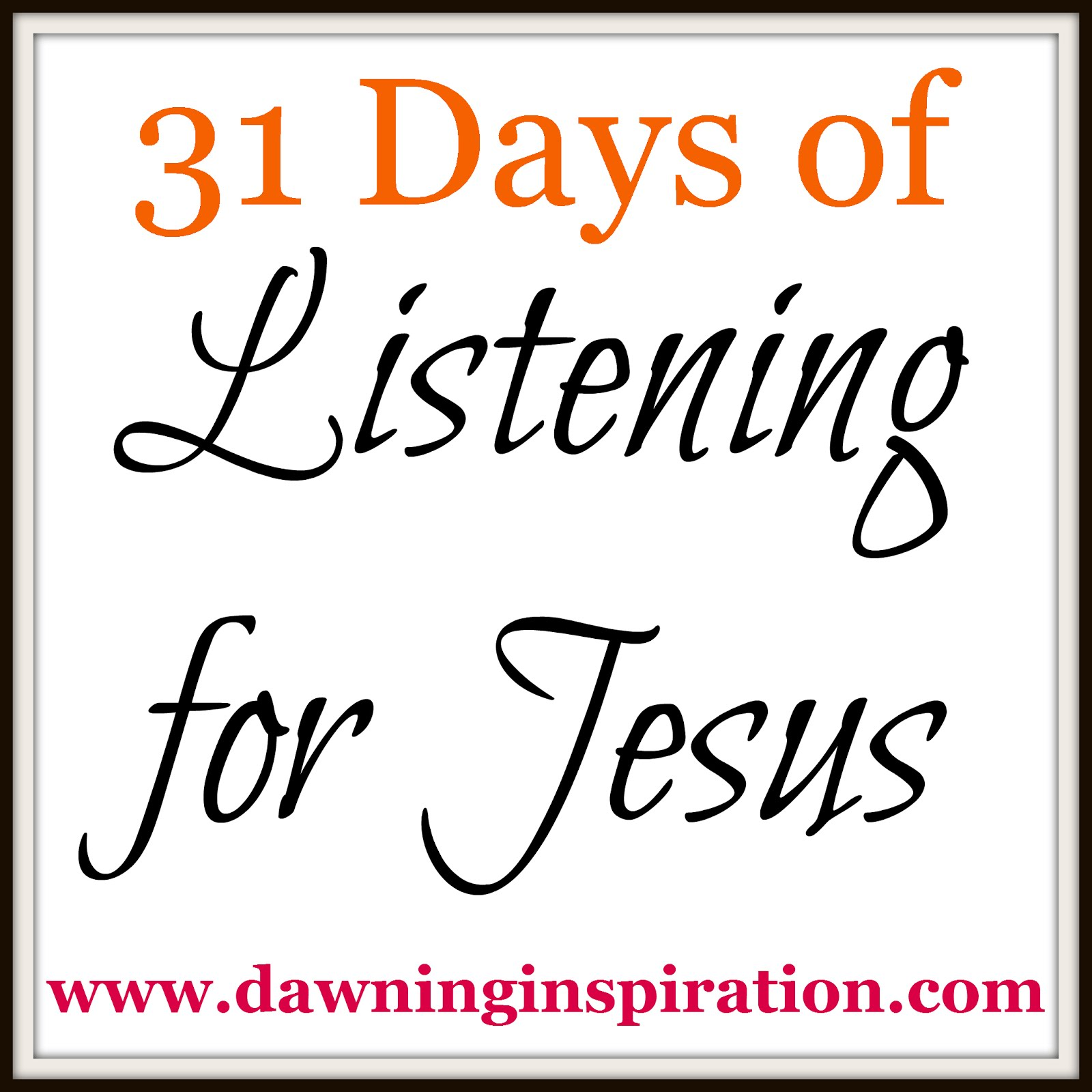 Join Me for 31 Days of Writing