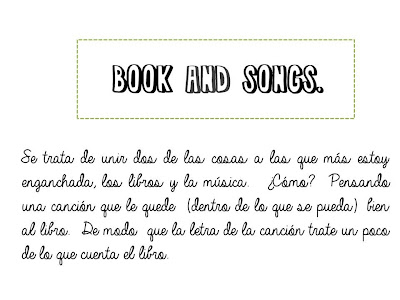 TAG: Book and Songs.