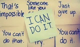 percaya diri ,yakin diri , diri boleh berjaya