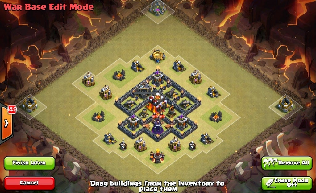 Base War TH 5 COC