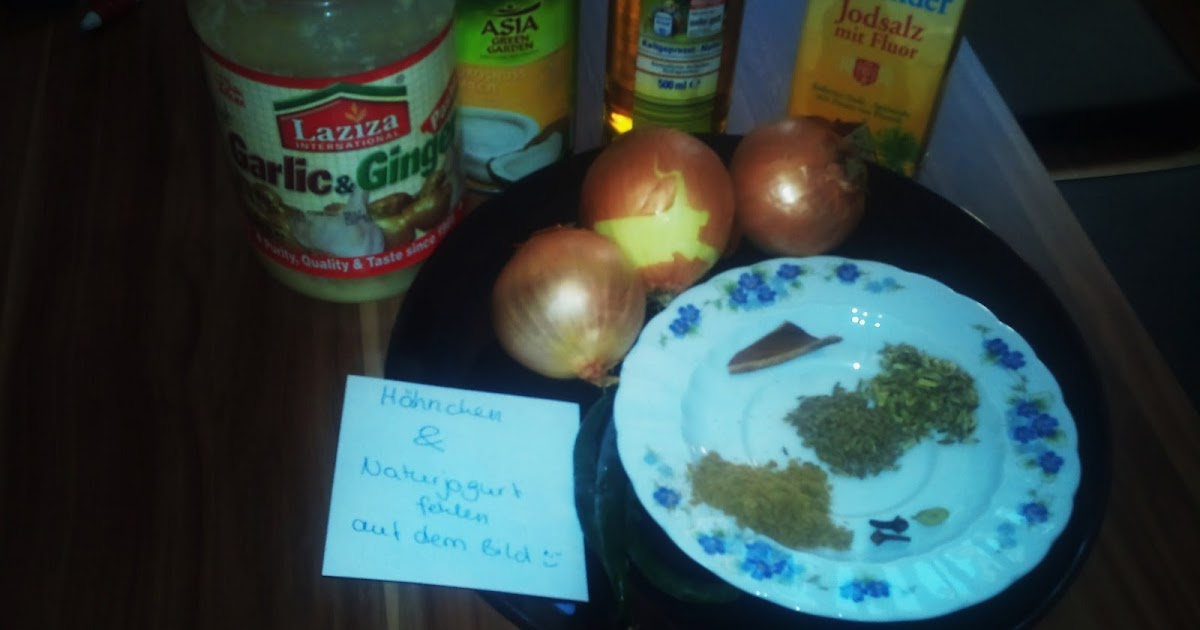 Kokos-Hähnchen Curry