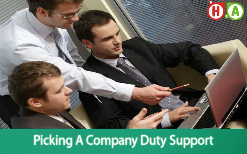 Picking A Company Duty Support