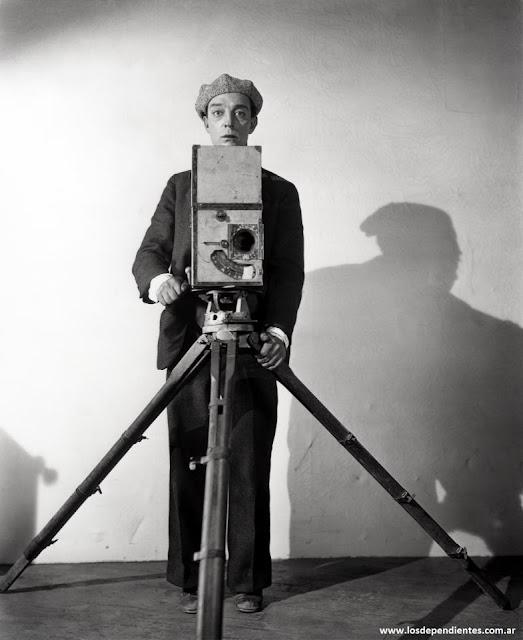 fotos curiosas cine buster keaton