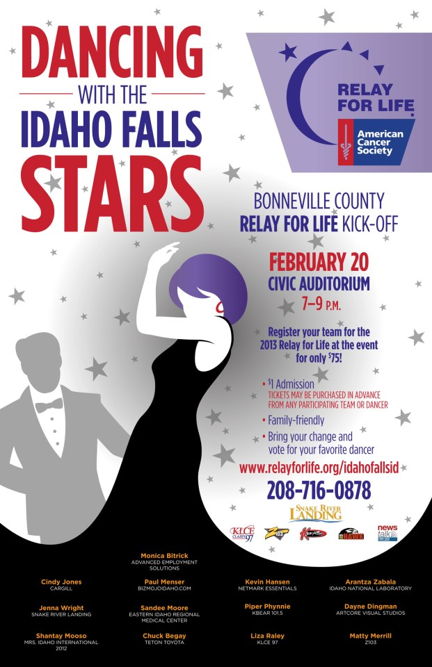 Dancing With The Idaho Falls Stars Coming Feb. 20
