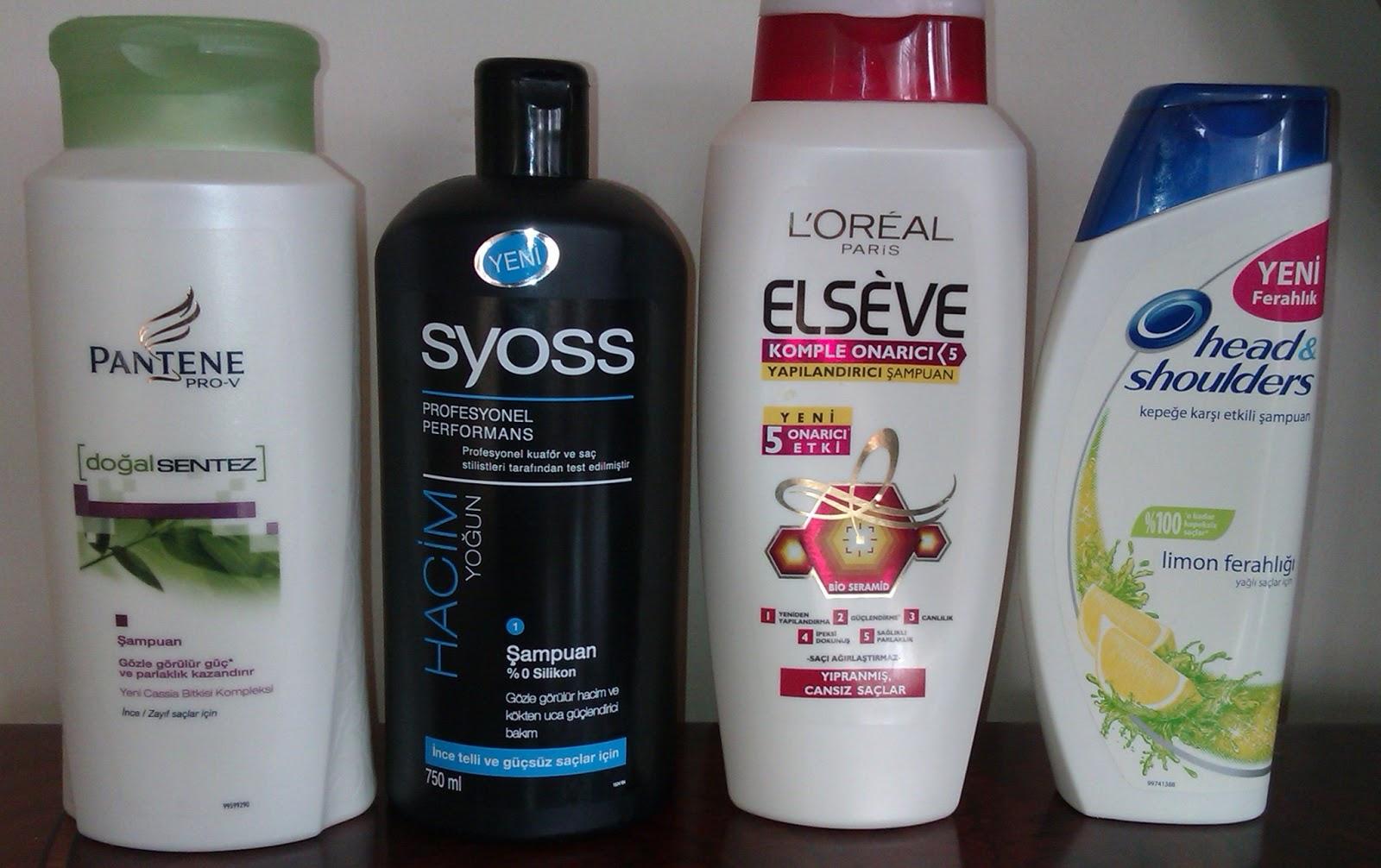 Sizin için en iyi şampuan hangisi