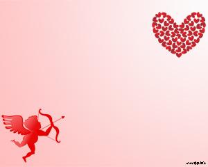 Background Power Point Cinta