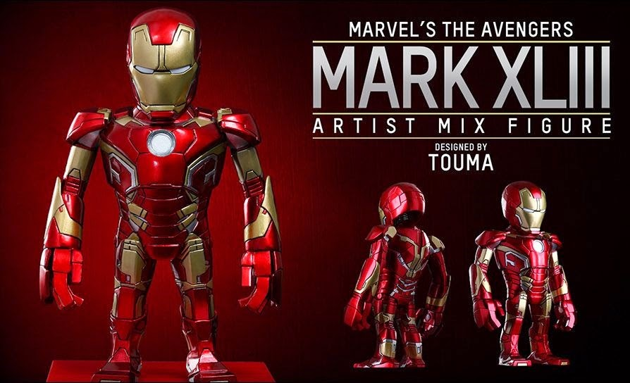 Marvel's Avengers Age of Ultron Artist Mix Figures Series 1 by Touma & Hot Toys - Iron Man Mark XLIII
