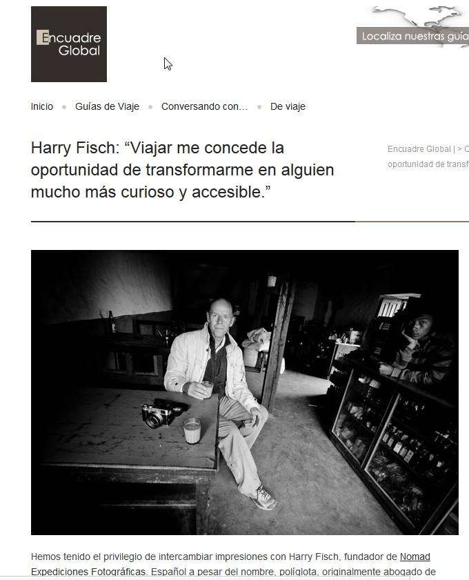 Nomad Expediciones Fotográficas blog: Entrevista de Harry Fisch en ...