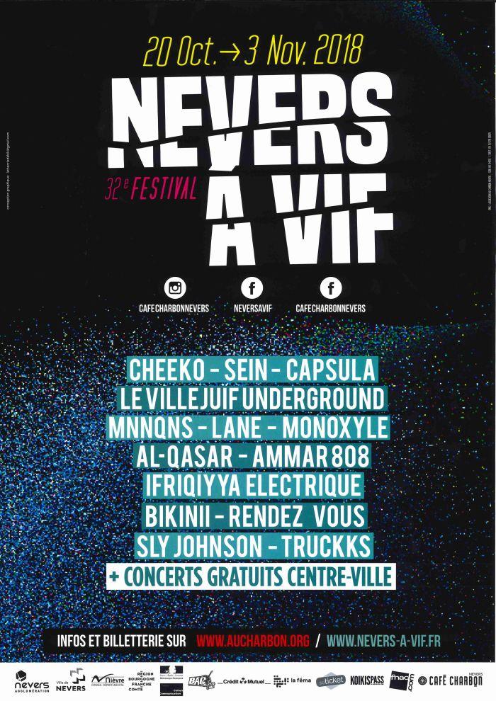Nevers à Vif du 20 octobre au 3 novembre