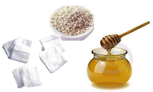 Ingredientes da Limpeza de Pele Profunda com Aveia e Mel