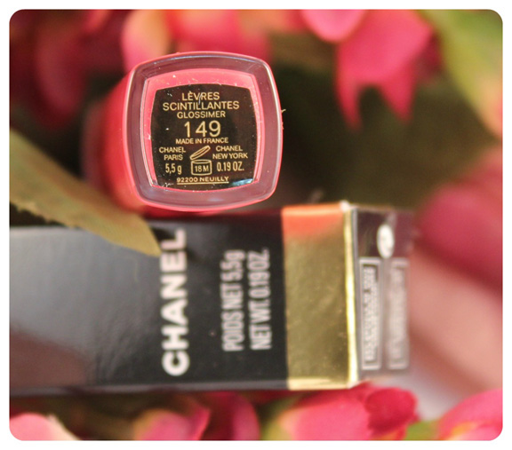 Chanel  Glossimer Lip Gloss 149 Nakkar