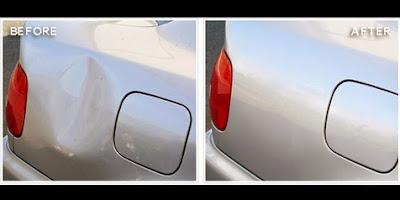 Cara Praktis Memperbaiki Body Mobil Yang Penyok