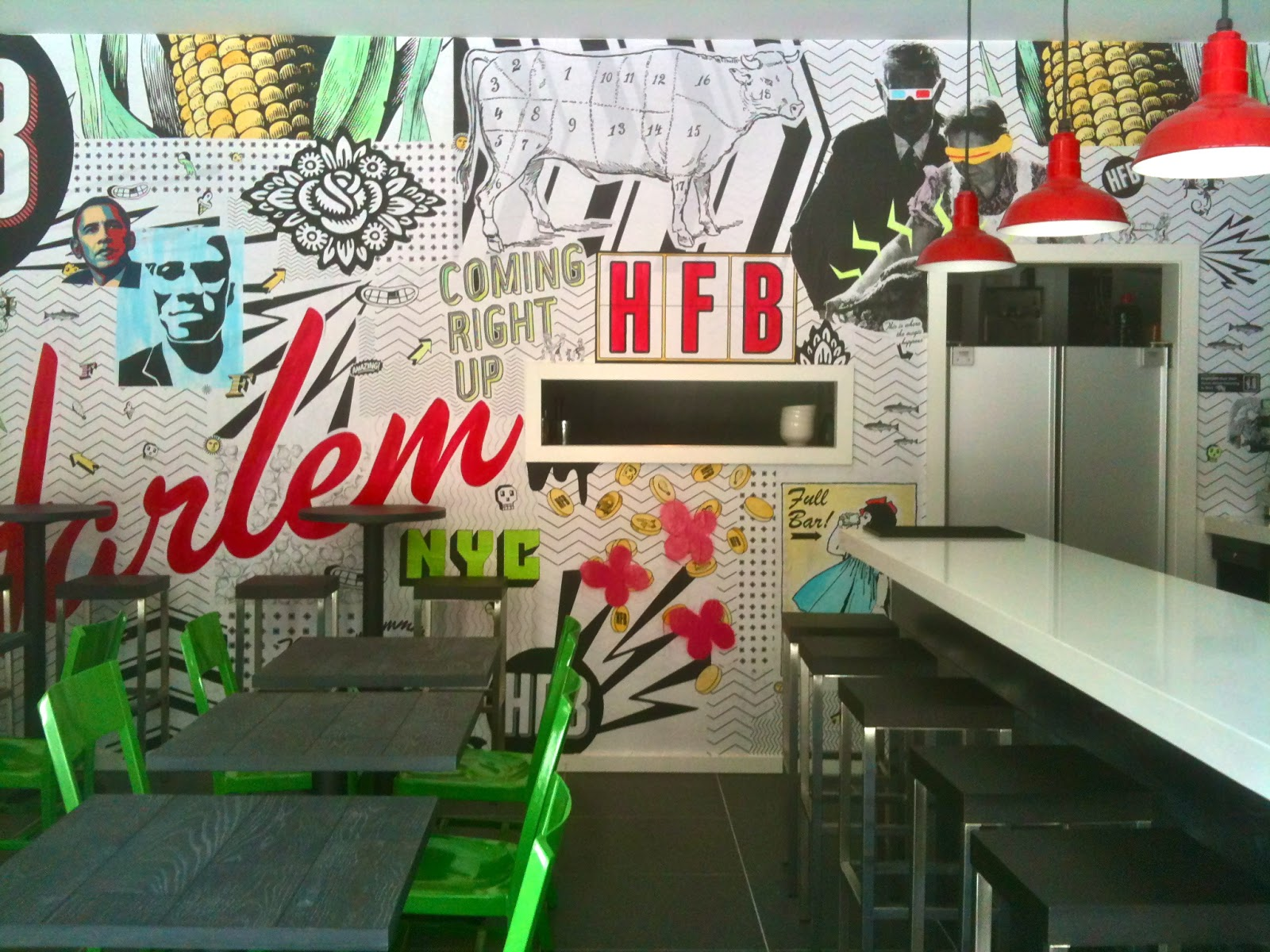 H a r l e m b e s p o k e eat harlem food bar opens for Food bar harlem