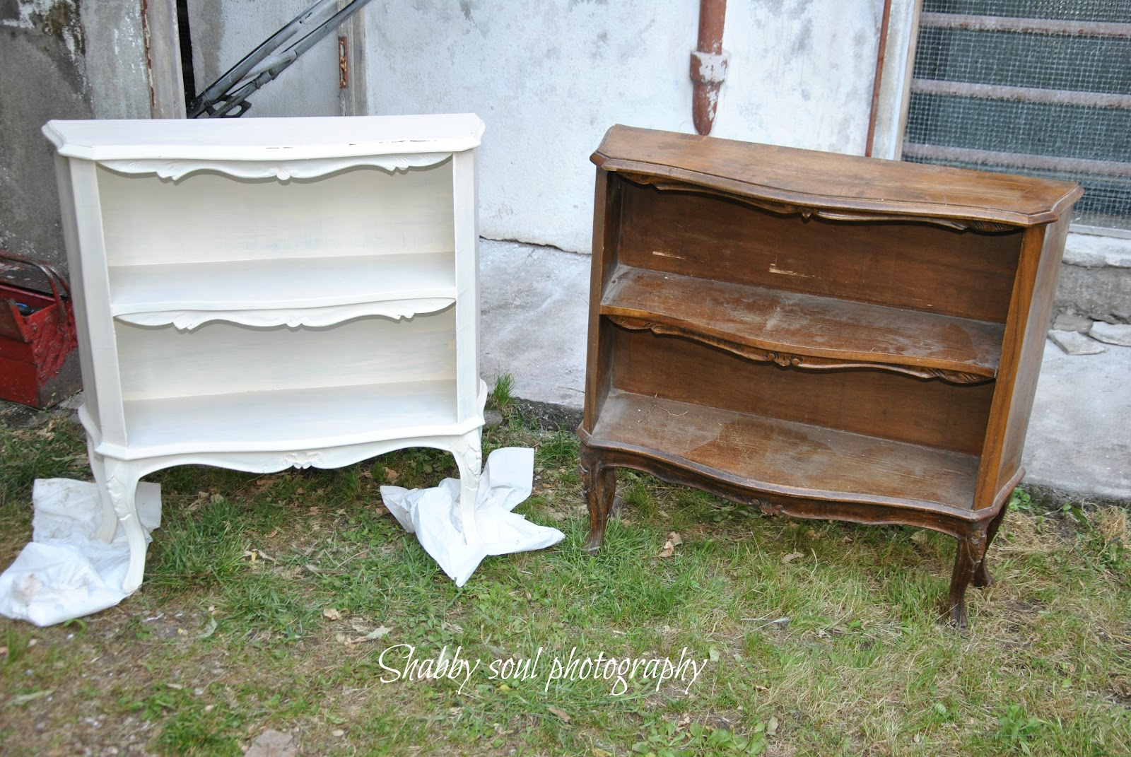 Shabby soul my homemade chalkpaint - Ridipingere un mobile ...