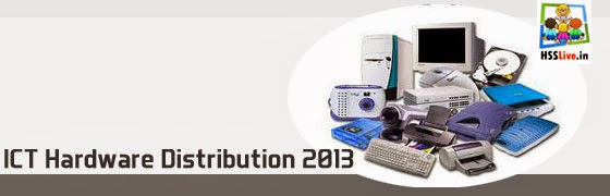 ICT Hardware Distribution 2013