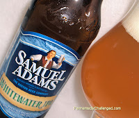 Samuel Adams Whitewater IPA close-up