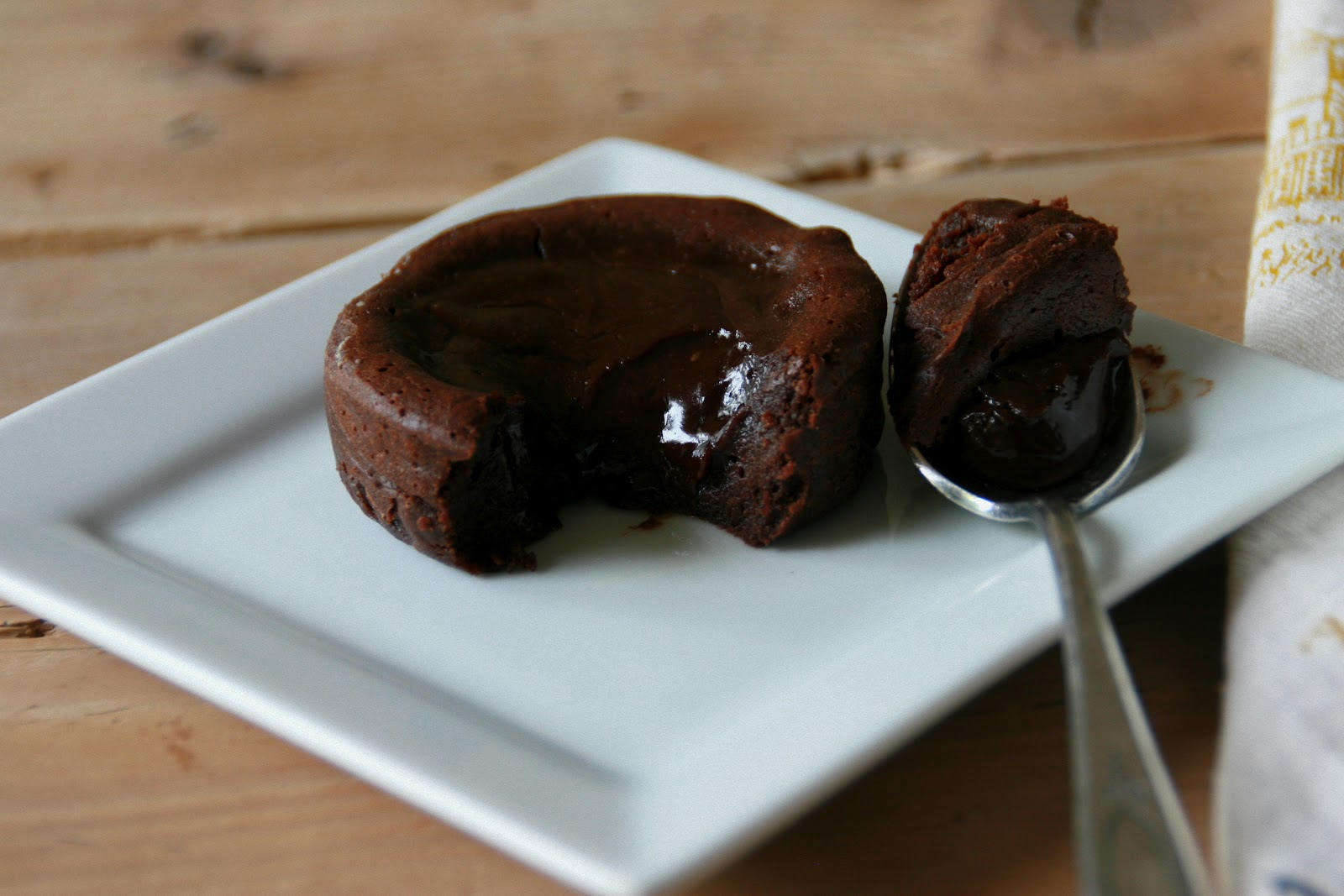 Cooking with Chopin, Living with Elmo: Petite Molten Chocolate Cakes