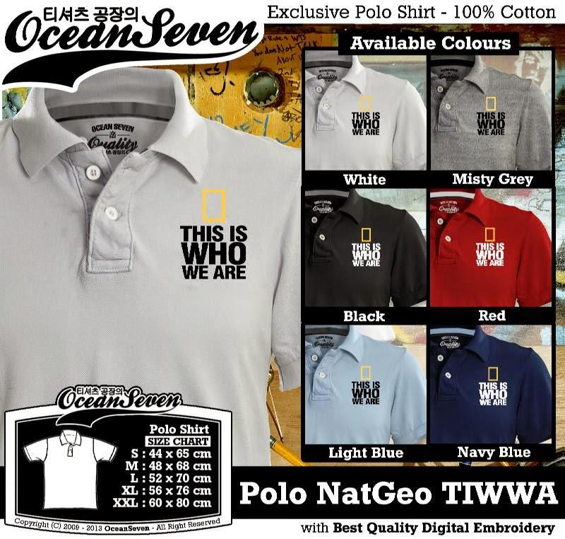 Kaos Polo NatGeo TIWWA