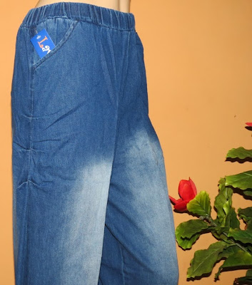 Grosir celana jeans kulot aladin