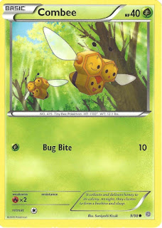 Combee Ancient Origins Pokemon Card