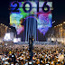 Hàng triệu người ra đường đón năm mới 2016