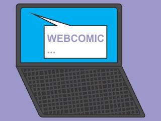 O que é uma webcomic?