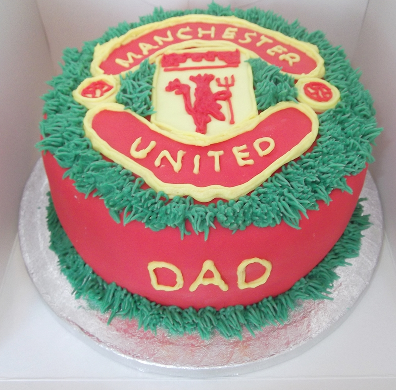 Manu Cake Design : Manchester United Girls Cake Ideas and Designs