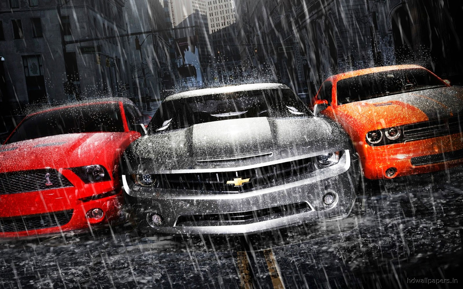 Full HD wallpapers Mustang- chevy-Dodge