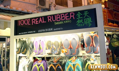 malacca jonker walk rubber