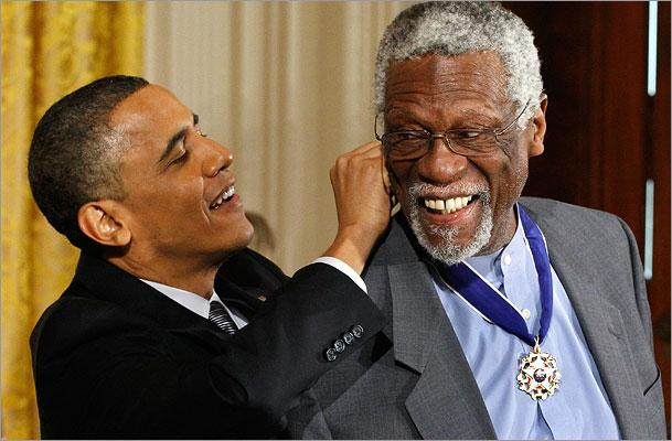 Bill Russell,Medal of Freedom