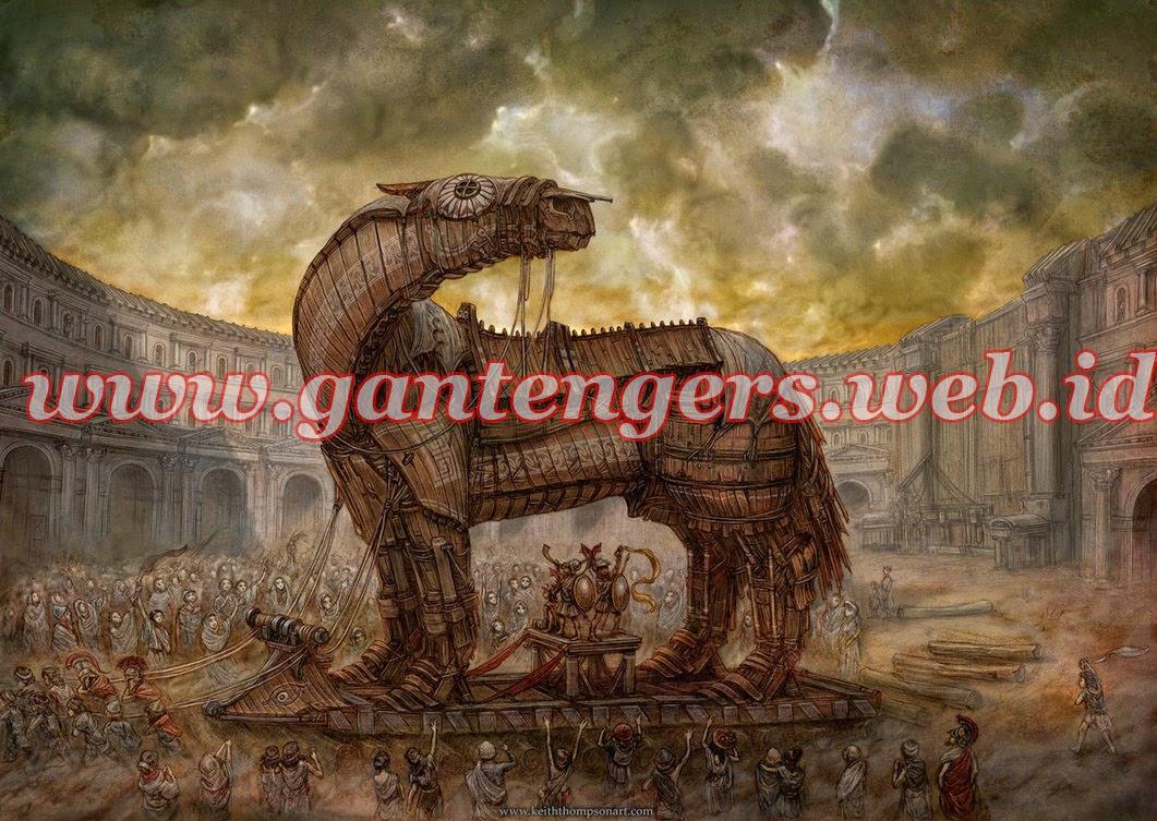 Cara Membuat Virus Trojan Horse
