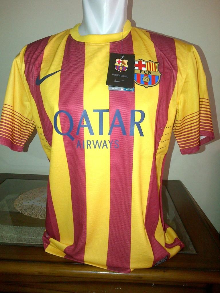 Barcelona Away Jersey 2013