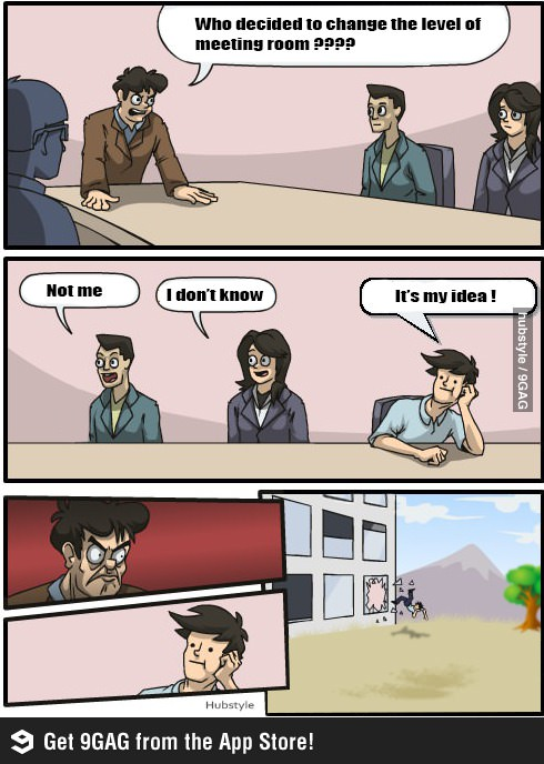 Meeting room funny meme
