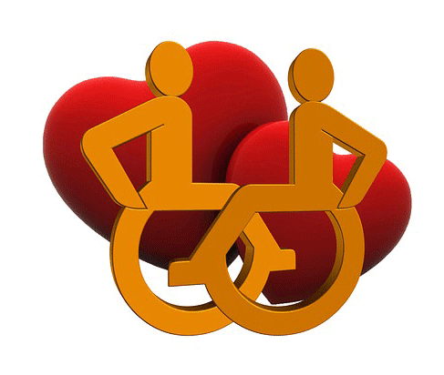 imagen de discapacidad y amor