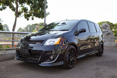 modifikasi nissan grand livina hitam