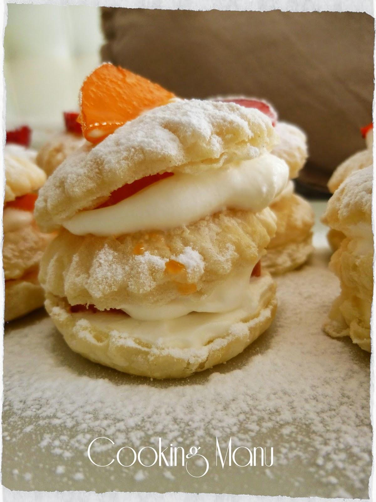 mini napoleon cakes