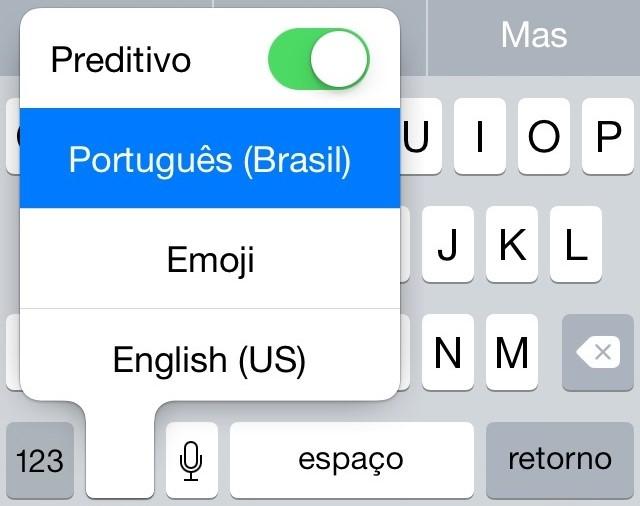 Predição iOS 8