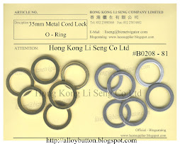 Metal Cord Lock O-Ring Supplier - Hong Kong Li Seng Co Ltd