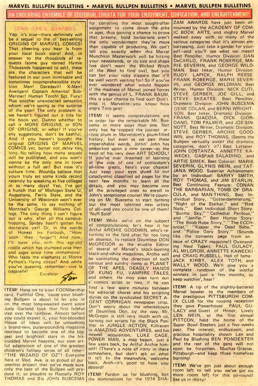 Conan the Barbarian (1970) Issue #53 #65 - English 20