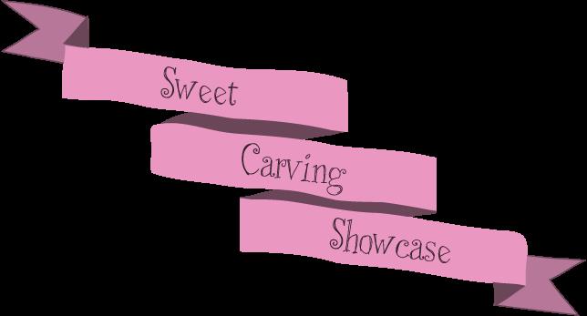 Cinta rosa sweet carving showcase