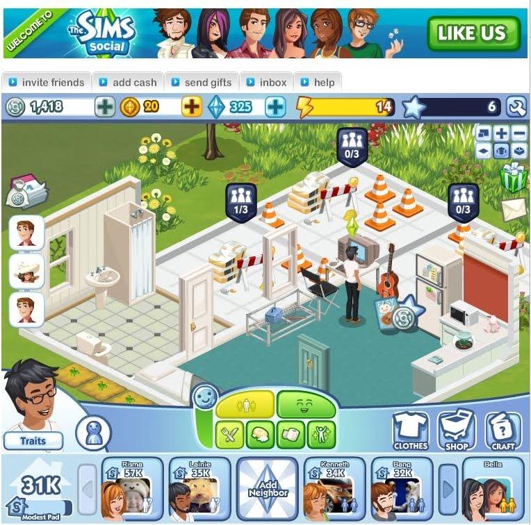Virtual sims online maktu for Online games similar to sims