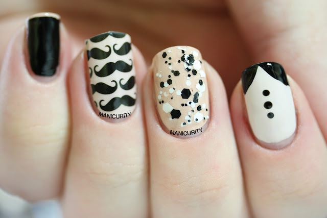 Manicurity | Jamberry Nails Mo Mo pattern shield wrap