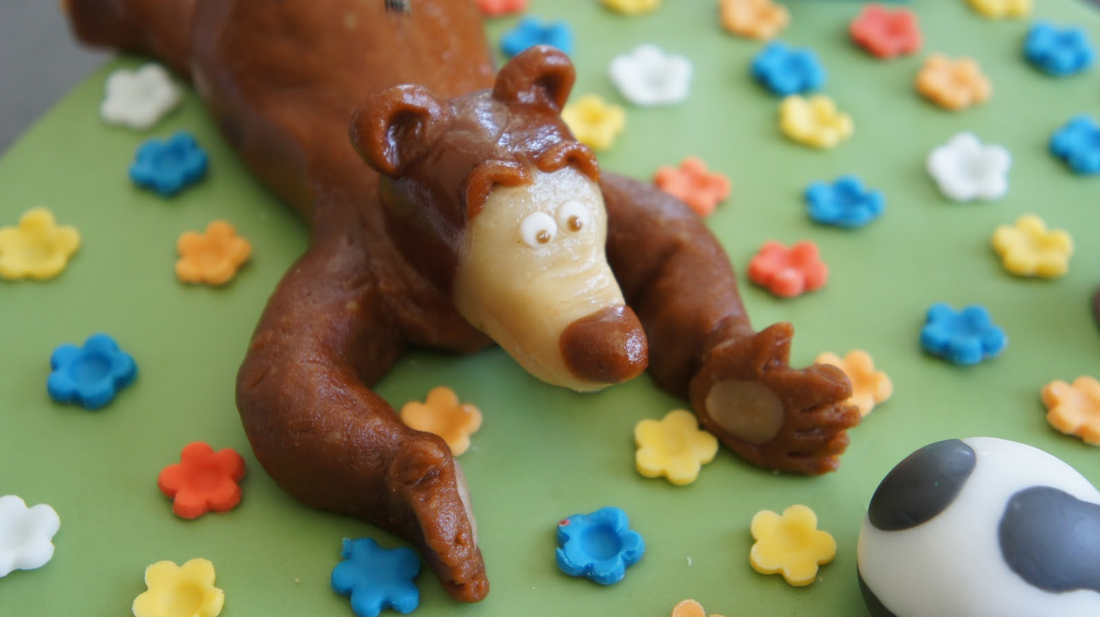 торт с машей и медведем