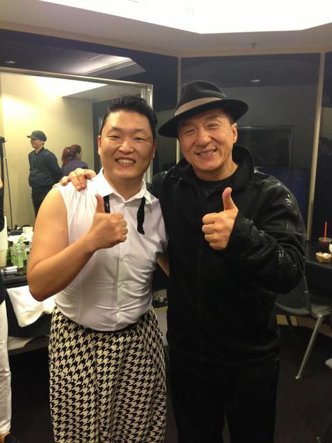 Psy & Jackie Chan