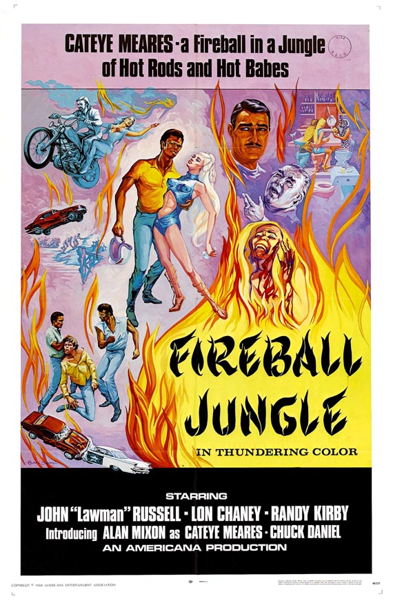 car exploitation movies fireball jungle